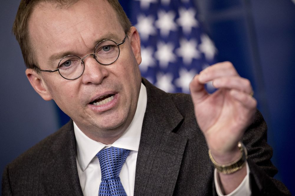 Congress on Track to Avoid Government Shutdown, Mulvaney Says