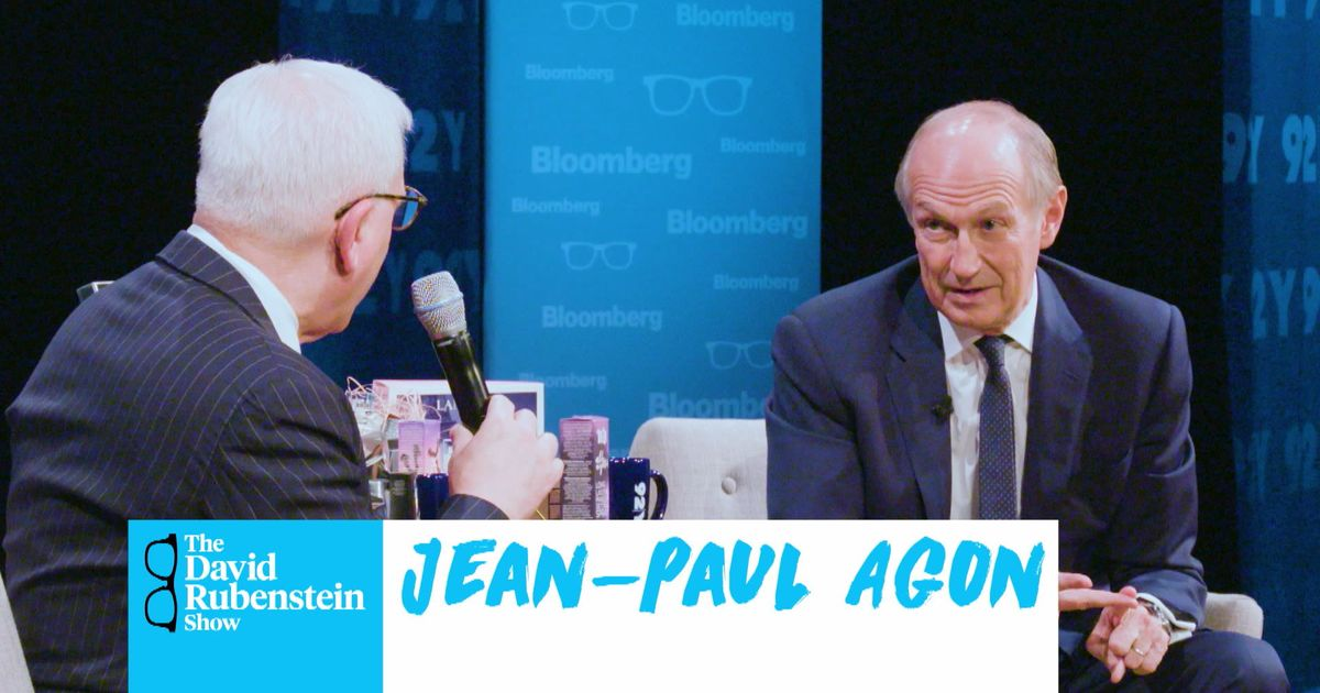 The David Rubenstein Show: L'Oreal CEO Jean-Paul Agon