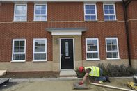 Residential Construction On A Barratt Developments Plc Site As House-Price Momentum Picks Up