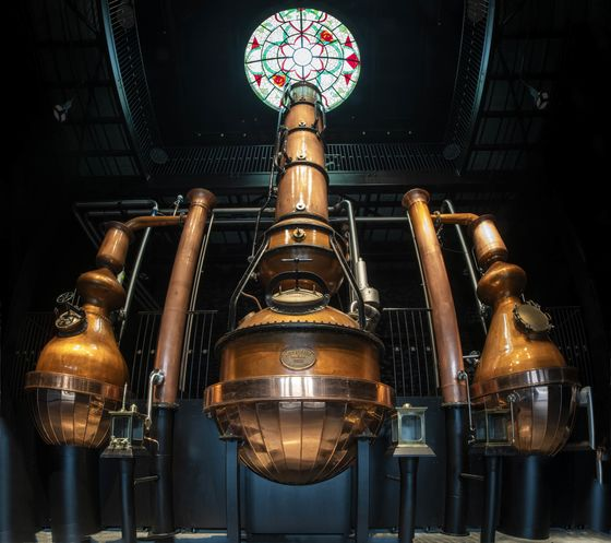 Steampunk Meets Science at New Hendrick's Distillery in Scotland