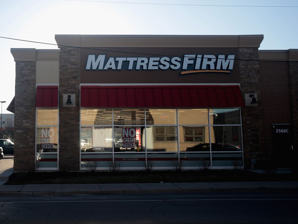 mattress firm ryan vinson why mattress firm went bankrupt bloomberg