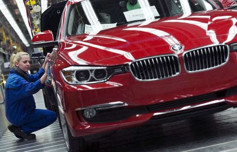 Best Stocks in Europe Show German Export Miracle on BMW Gain