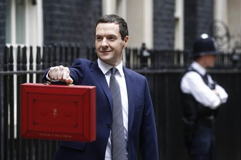 Chancellor Of The Exchequer George Osborne Presents Tory-Majority Government U.K. Budget