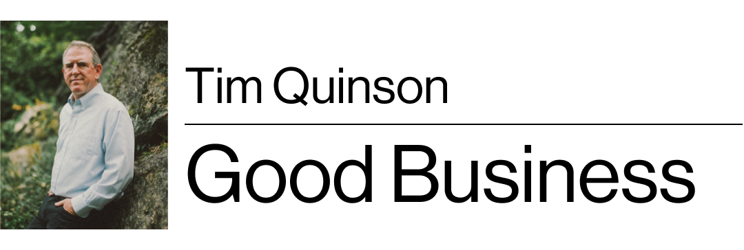 Tim Quinson's Good Business