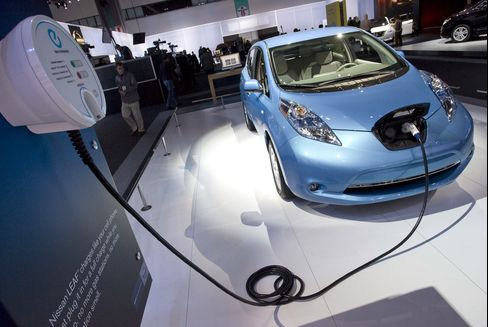 Nissan, Mitsubishi's Electric Autos Will Cook Your Dinner