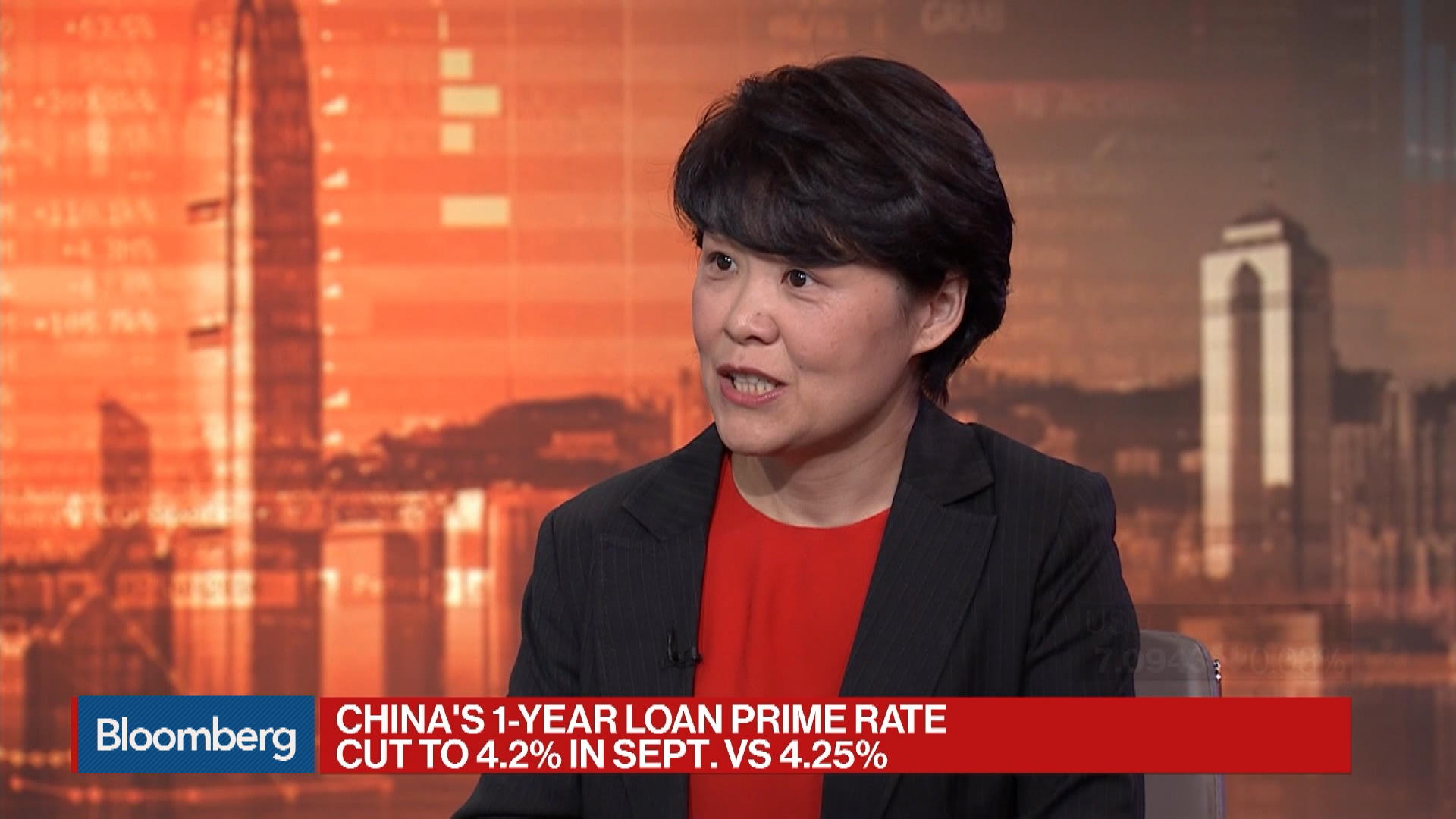 CCB International Managing Director and Head of Macro Research Cui Li on China's Loan Prime Rate Cut