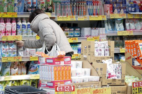Consumers Shopping Ahead of Japan's Retal, Household Spending And CPI Figures