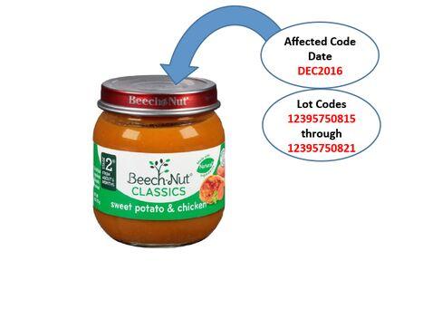 Beech-Nut Nutrition Baby Food