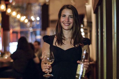 Laura Maniec of Corkbuzz, NYC.
