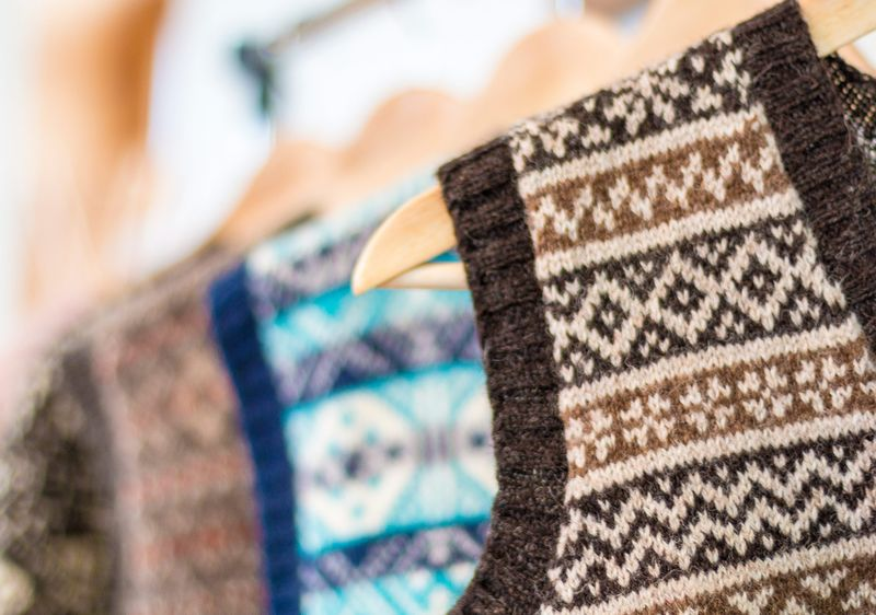 Carrying on the Tradition of Knitting a Sweater at the Edge of the ...