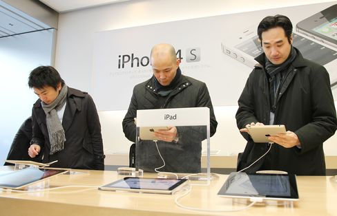 IPad Prices Add to Tokyo Surprise as Linkers Gain