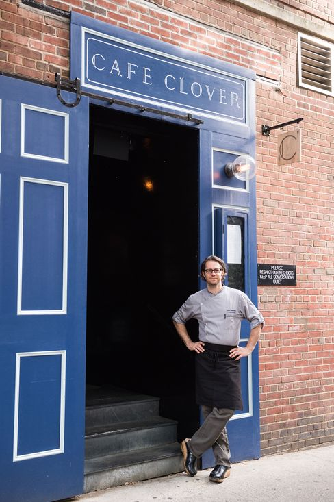 David Standridge is the chef at Cafe Clover.