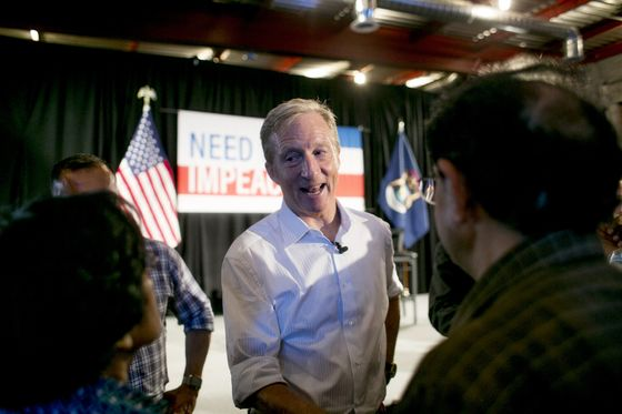 Steyer Campaigns for Trump'sImpeachment While Other Democrats Stay Away