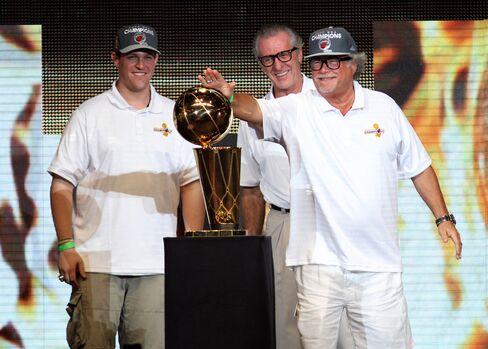 Miami Heat 2012 Championship Celebration