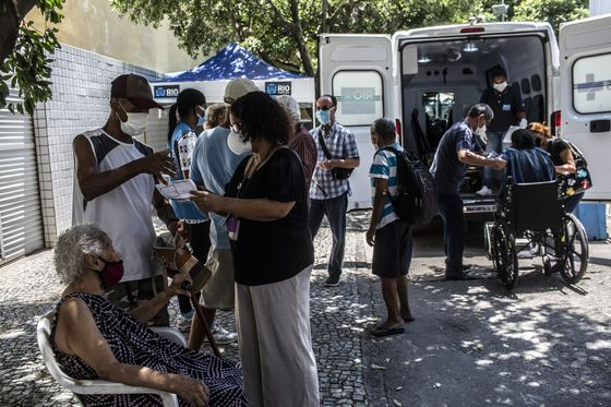 Brazil Cities Run Out of Covid Shots a Month Into Vaccinations