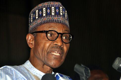 Nigeria's President-elect Mohammadu Buhari