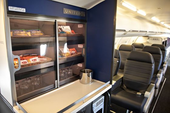 United Targets Big Spenders With First Class in Small Cities