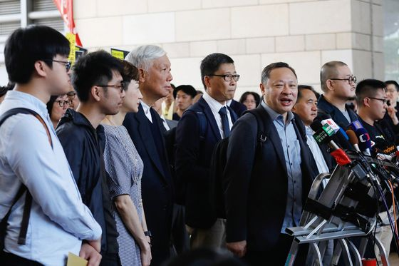 Hong Kong Occupy Leader Found Guilty Over Protest Role