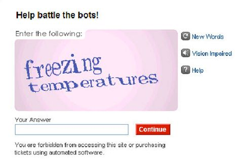 Startup Defeats the Captcha, Wins One for the Machines