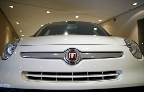Fiat Exercises Option to Buy Additional 3.3% of Chrysler Shares