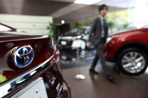 Toyota Boosted With Yen at 100 Faces Stronger Competitors