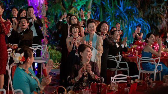 'Crazy Rich Asians' Fends Off Competition to Stay No. 1 Film