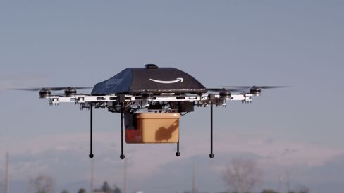 Amazon Testing Drones for Delivery, Bezos Tells '60 Minutes'