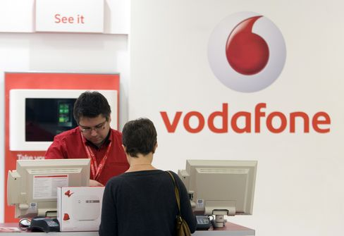 Vodafone Quarterly Service Sales Growth Slows on Italy