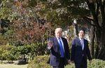 トランプ大統領と安倍首相