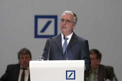 Achleitner at the annual general meeting, May 18.