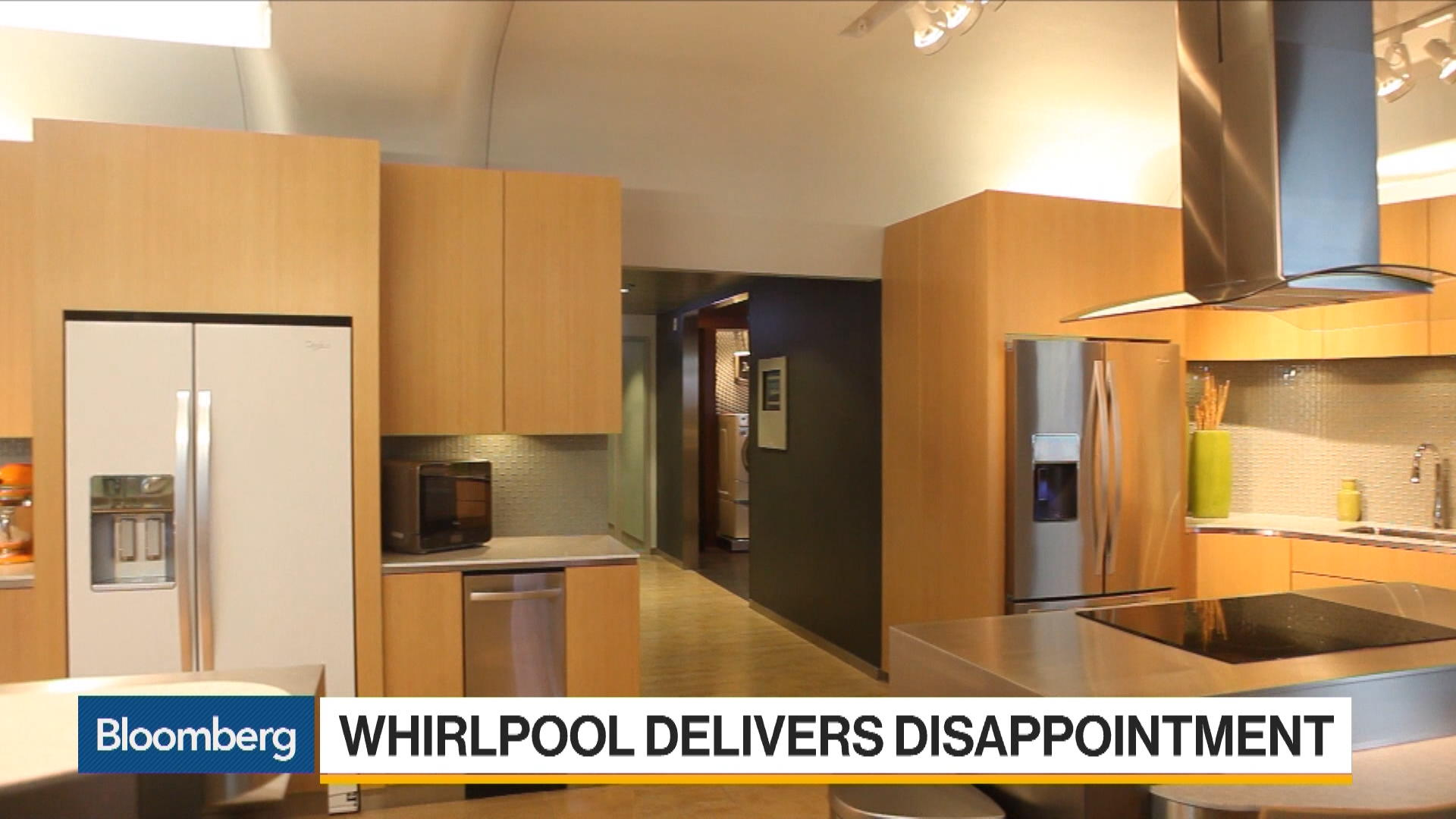 Whirlpool Delivers Disappointing Earnings Forecast – Bloomberg