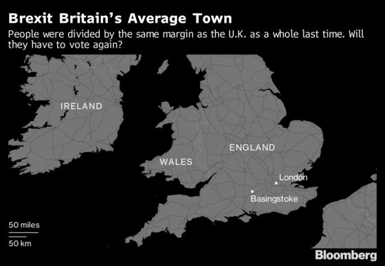 Brexit's Bellwether Town Senses a Shift in Opinion