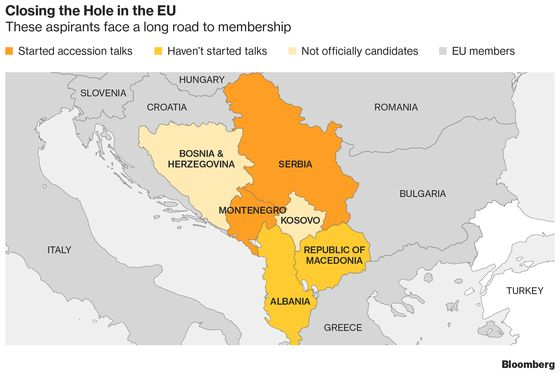 Serbia Floats Ethnic Partition in Search of Kosovo Deal