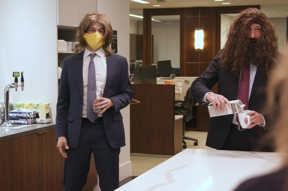 Blackstone Spoofs Office Culture in Annual Holiday Video