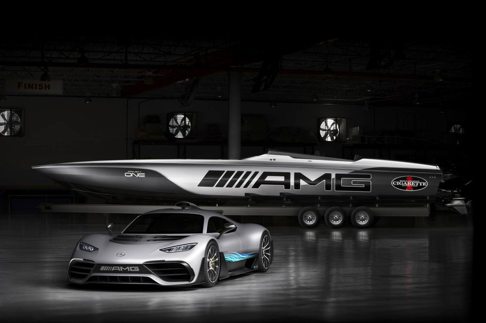 Mercedes Benz Unveils The 2 Million Amg Cigarette Racing Boat