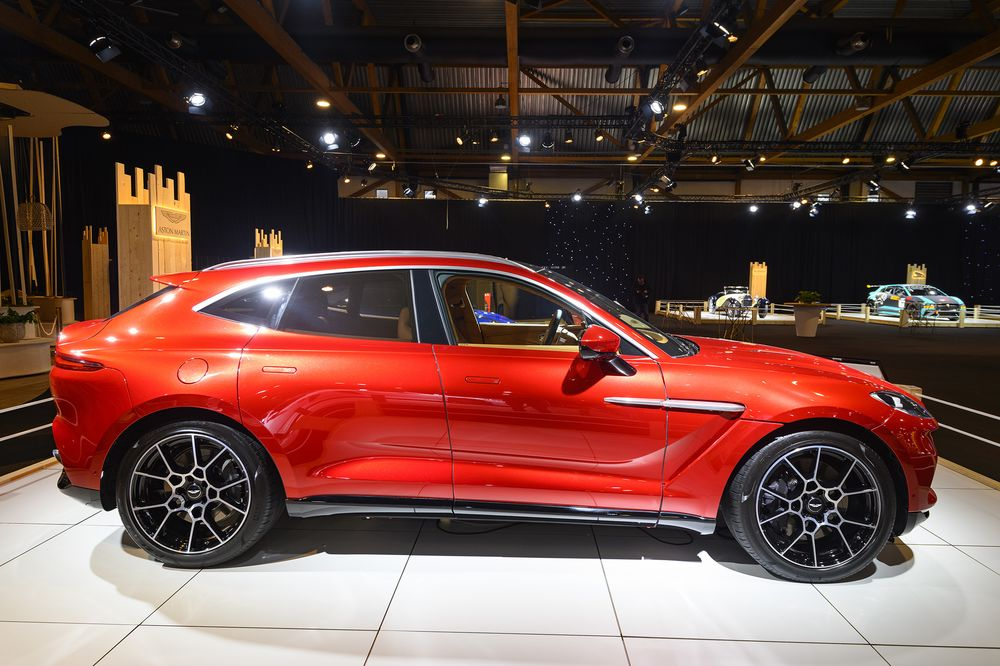 Aston Martin Aml Sales To Fall Ahead Of Dbx Suv Launch Bloomberg