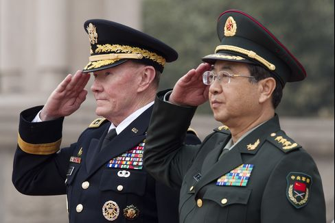 China General With Dempsey Compares Cyber-Attack to Nuclear Bomb