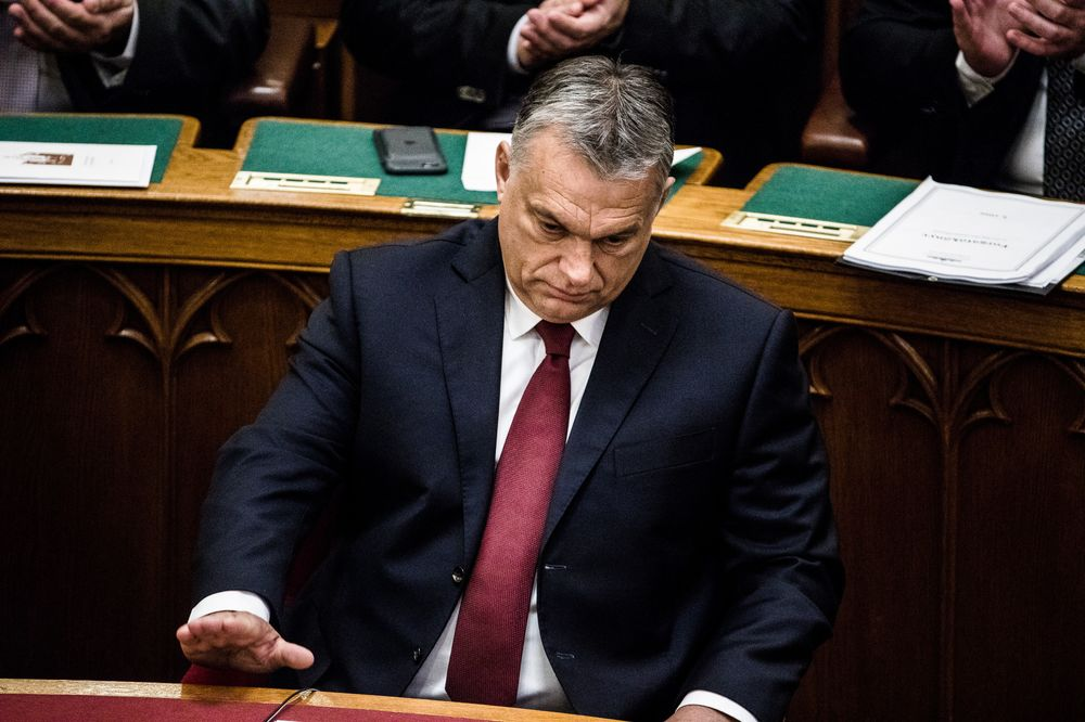 Orban Predicts EU Parliament to Censure Hungary Over Rule of Law ...