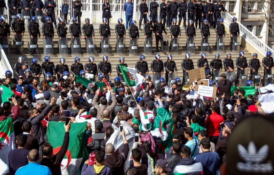 Algeria Risks Explosion as Bouteflika Defies Protesters