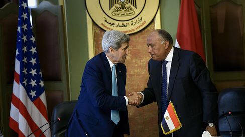 John Kerry's visit to Egypt