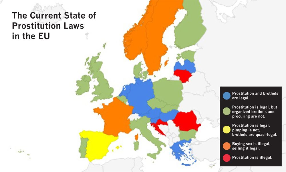 Germany prostitution cost in Price Of