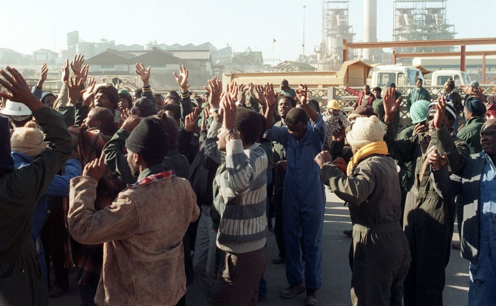 Channeling Thatcher: South Africa's President Takes On Its Unions