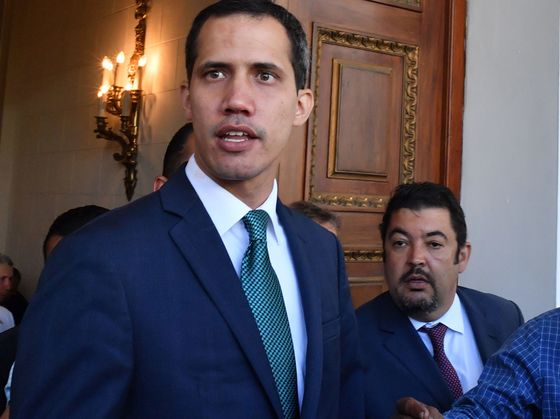 Venezuela Police Detain Guaido's Chief of Staff After Raid