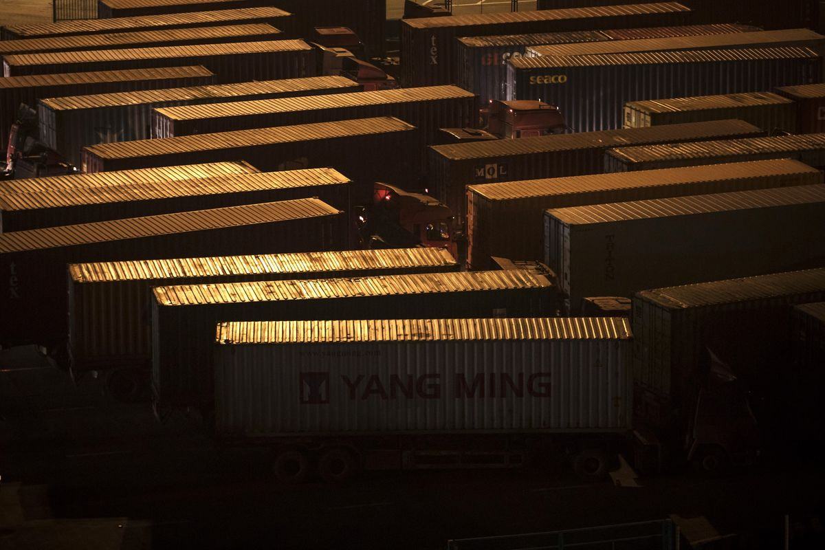 World Trade Volumes Are Plunging at the Fastest Pace in a Decade