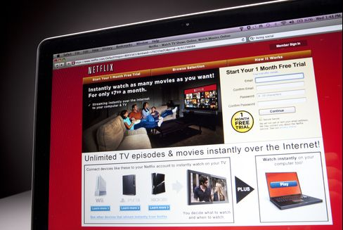 Disney's Netflix Deal Gives Top Billing to Online Movie Viewing
