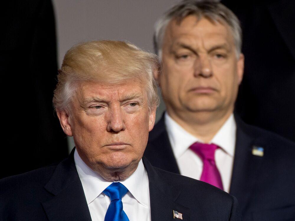 Image result for orban trump