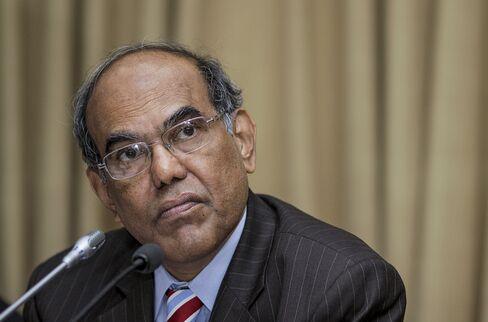 Reserve Bank of India Governor Duvvuri Subbarao