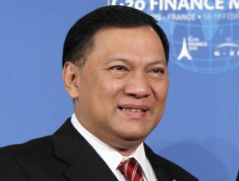 Bank Indonesia Governor Agus Martowardojo