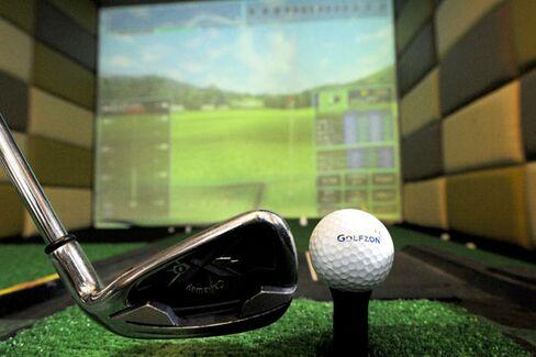 Virtual Country Club Brings Golf to Midtown Manhattan