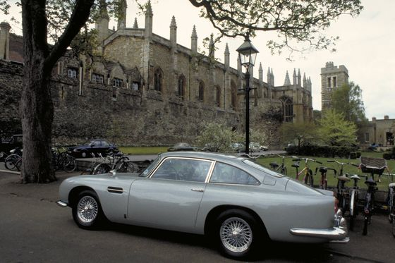James Bond'sAston Martin DB5 Is Going Back Into Production
